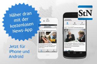 Die mobilen Angebote der Stuttgarter Nachrichten