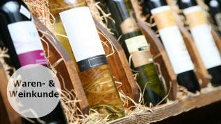 Waren- und Weinkunde