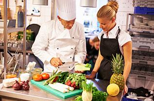 Kochschule mit Rezepten und Grundtechniken
